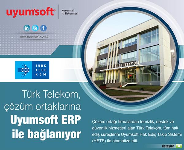 Türk Telekom çözüm ortaklarına Uyumsoft ERP ile bağlanıyor
