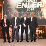 Uyumsoft Başkanı Mehmet Önder, Başarılı İş İnsanı Ödülünü aldı