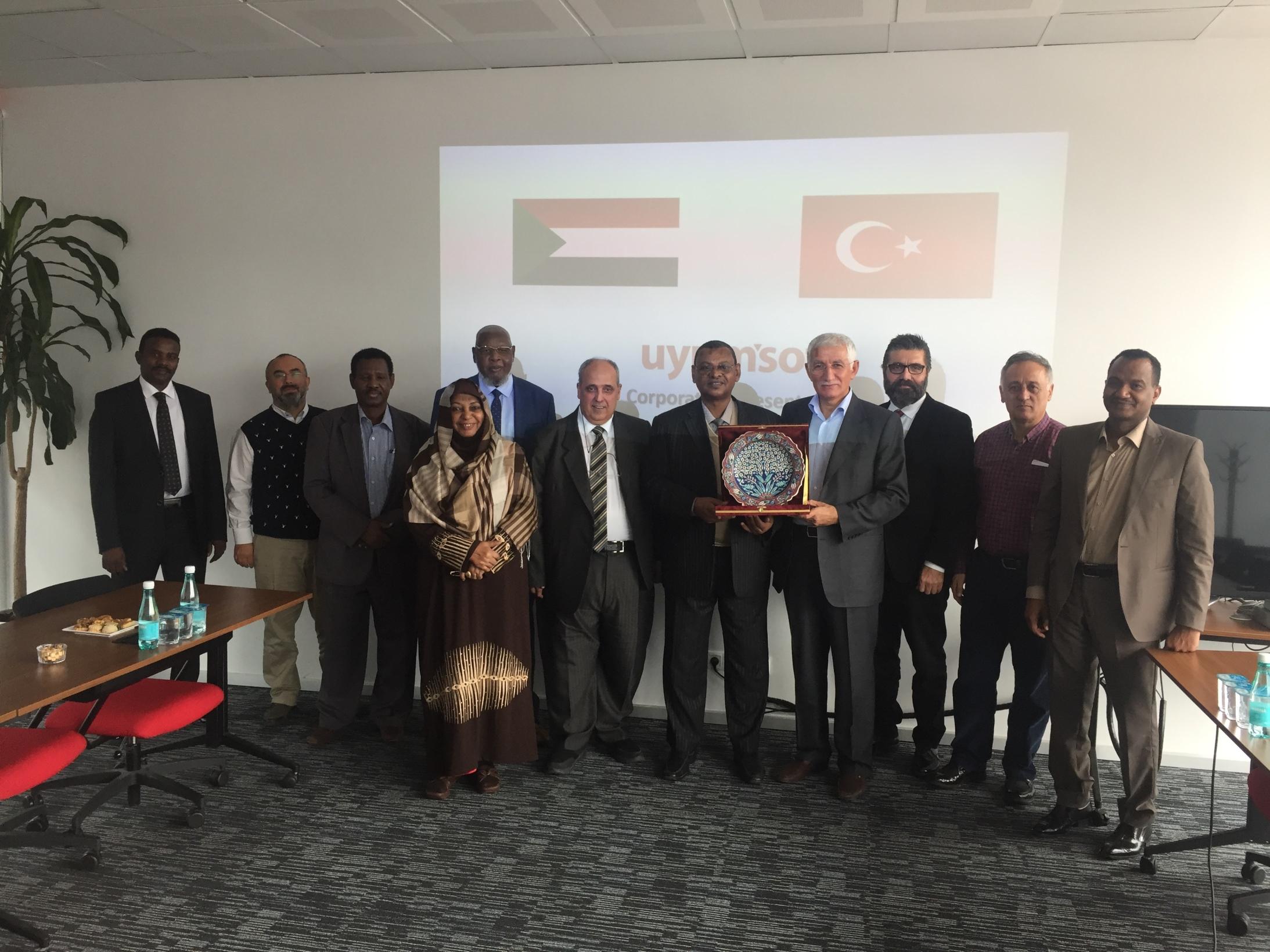 Sudan Heyeti Ziyareti