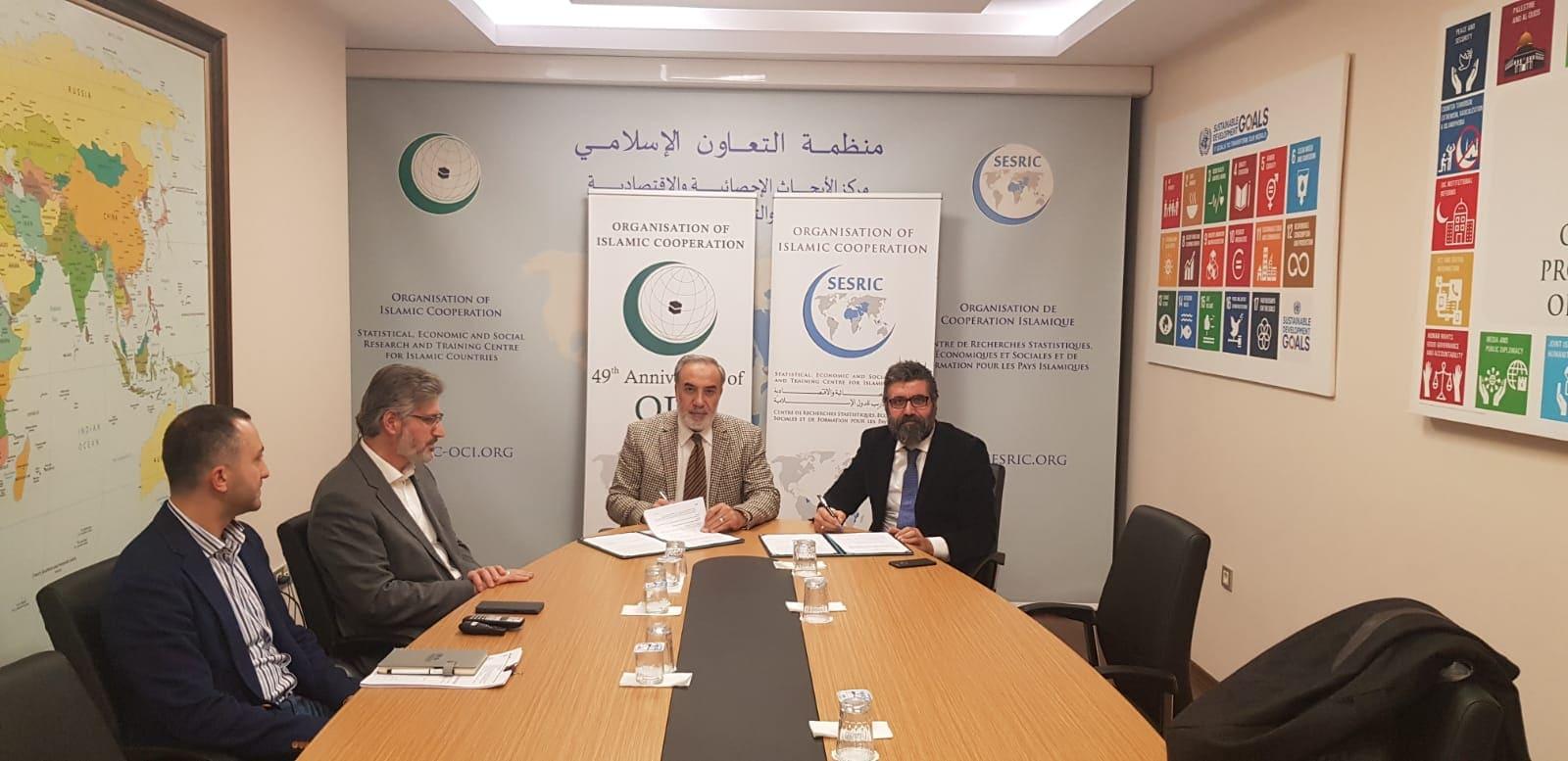 SESRIC ve Uyumsoft arasında işbirliği protokolü imzalandı